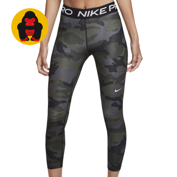 나이키 AS W NP TIGHT CROP PP2 CAMO CU4631-082