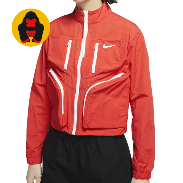 나이키 AS W NSW TECH PACK JKT WVN CU6037-673